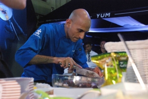 chef jehangir mehta for the mystery box challenge