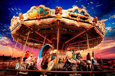 The Magic Carousel at ADLABS IMAGICA