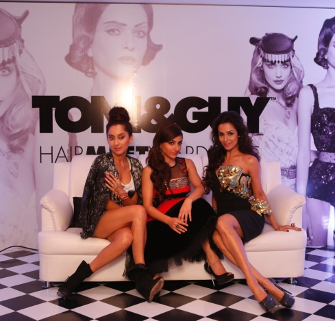 Toni & Guy HairMeetWardrobe collections - casual, glamour and classic