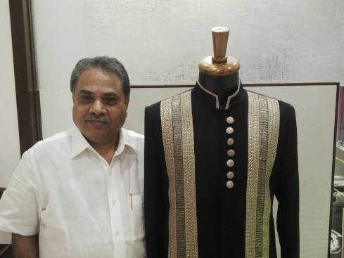 Madhav Agasti at his Khar store