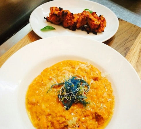 Butter Chicken Risotto
