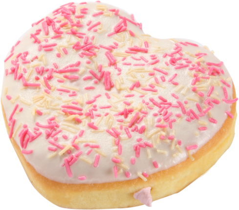 Pretty In Pink Donut