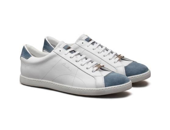 Sneakers in leather &  suede from Corneliani