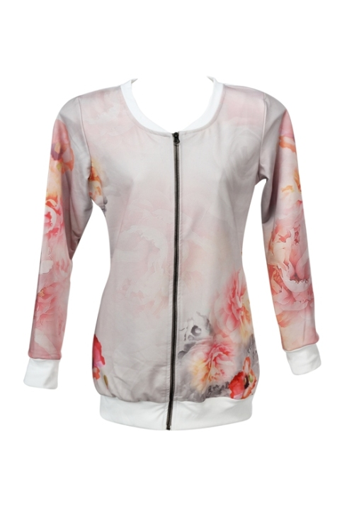 Floral bomber jacket by BKind