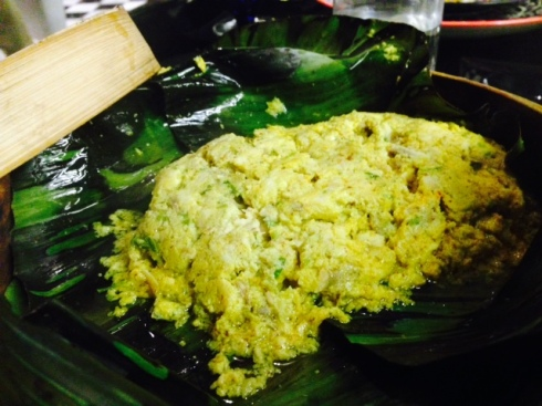 Ilish Maacher Paturi - boneless Hilsa with mustard