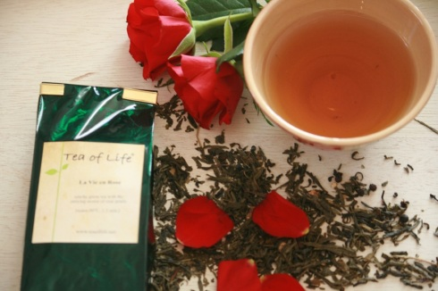 Rose infused Tea Of Life