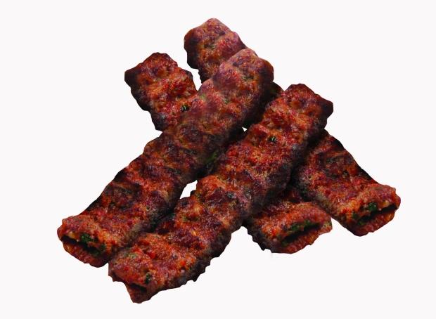 Turkish seekh kebap