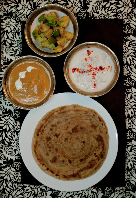 Holachef, food, Mumbai, paratha