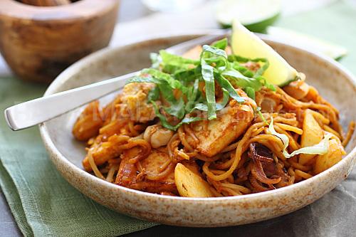 Mee Gorang, Singapore food, noodles, Asian food