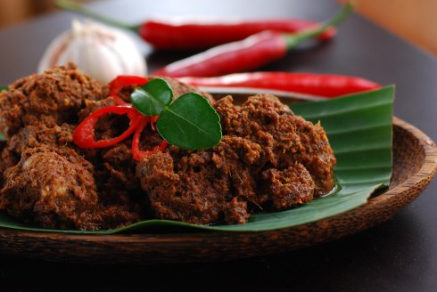 Mutton Rendang, Singapore, food, Malaysian, Asian, spicy