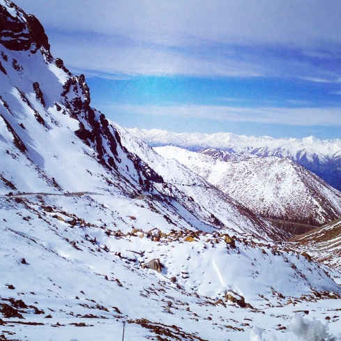 Khardungla Pass, Leh, Mountain, snow, ladakh
