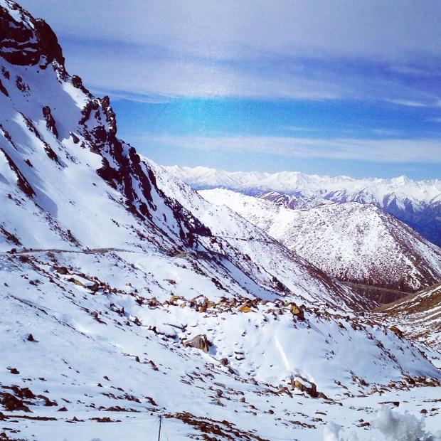 Khardungla Pass, Leh, Mountain, snow, ladakh