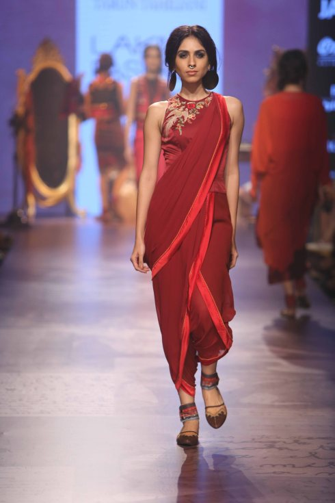 Tarun Tahiliani, designer, Lakme Fashion Week, winter, fashion, ramp, Indian
