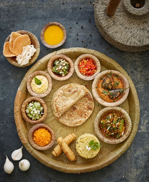 resized Warhadi thali at Gateway Hotel Pune