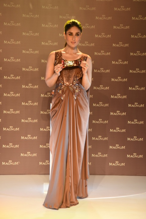 Magnum Pleasure Ambassador Kareena Kapoor Khan launches Magnum Brownie 2
