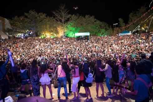 SulaFest 2016 goers