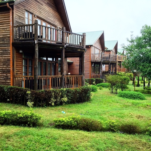 chalet at Aamby Valley