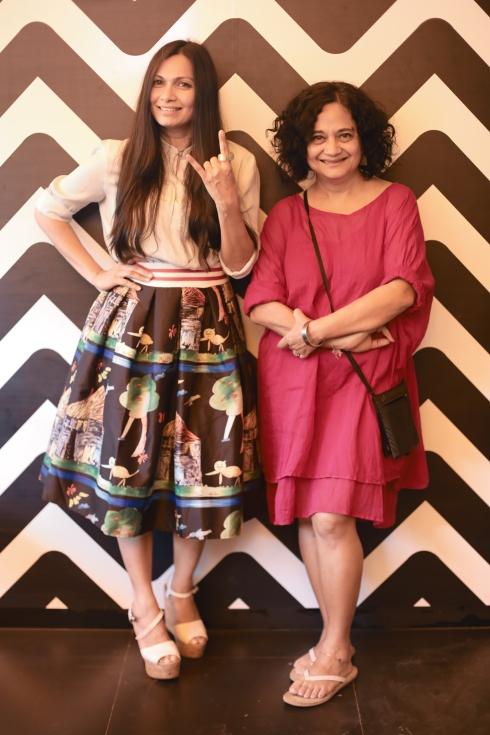 Maria Goretti Lolita Sarkar Desi Deli restaurant celebrity brunch