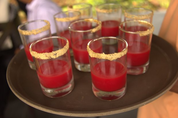 dosha based drink at Hilton Shilim