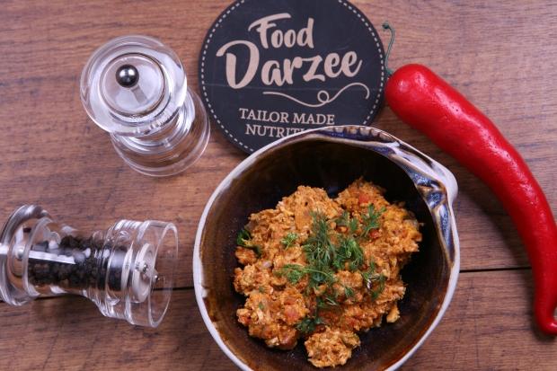 Keto meal Paneer Bhurji from Food Darzee